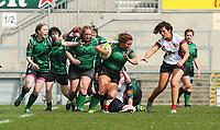 Saturday 20th April 2019 | 2019 Ulster Women's Junior Cup Final<br /> <br /> StacyLee Kennedy during the Ulster Women's Junior Cup final between Malone and City Of Derry at Kingspan Stadium, Ravenhill Park, Belfast. Northern Ireland. Photo John Dickson/Dicksondigital