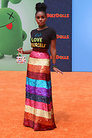 "LOS ANGELES - APR 27:  Janelle Monae at the ""UglyDolls"" Premiere at Regal LA Live on April 27, 2019 in Los Angeles, CA"