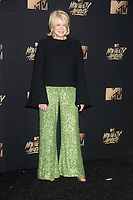 Businesswoman/TV personality Martha Stewart at the 2017 MTV Movie &amp; TV Awards at the Shrine Auditorium, Los Angeles, USA 07 May  2017<br /> Picture: Paul Smith/Featureflash/SilverHub 0208 004 5359 sales@silverhubmedia.com