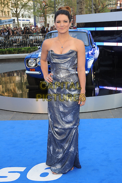 Gina Carano .at 'Fast & Furious 6' world film premiere, Empire cinema, Leicester Square, London, England 7th May 2013 .CAP/BEL.©Tom Belcher/Capital Pictures