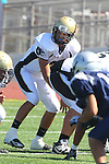 Torrance, CA 09/08/11 - Ian Escutia (Peninsula #2) in action during the North-Peninsula Junior Varsity Football game at North High School in Torrance.