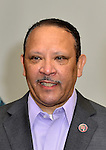 FORT LAUDERDALE, FL - JULY 30: President & CEO of National Urban League Marc H. Morial poses for a NUL Career Professional Headshots at the Broward Convention Center on Thursday July 30, 2015 in Fort Lauderdale, Florida. ( Photo by Johnny Louis / jlnphotography.com )