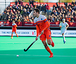 ROTTERDAM - Jonas de Geus (NED)   tijdens   de Pro League hockeywedstrijd heren, Nederland-Spanje (4-0) . COPYRIGHT KOEN SUYK