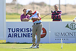 Pablo Larrazabal (ESP) tees off on the 17th tee during Day 3 Saturday of the Open de Andalucia de Golf at Parador Golf Club Malaga 26th March 2011. (Photo Eoin Clarke/Golffile 2011)