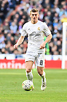 Real Madrid´s Toni Kroos during 2015/16 La Liga match between Real Madrid and Atletico de Madrid at Santiago Bernabeu stadium in Madrid, Spain. February 27, 2016. (ALTERPHOTOS/Javier Comos)
