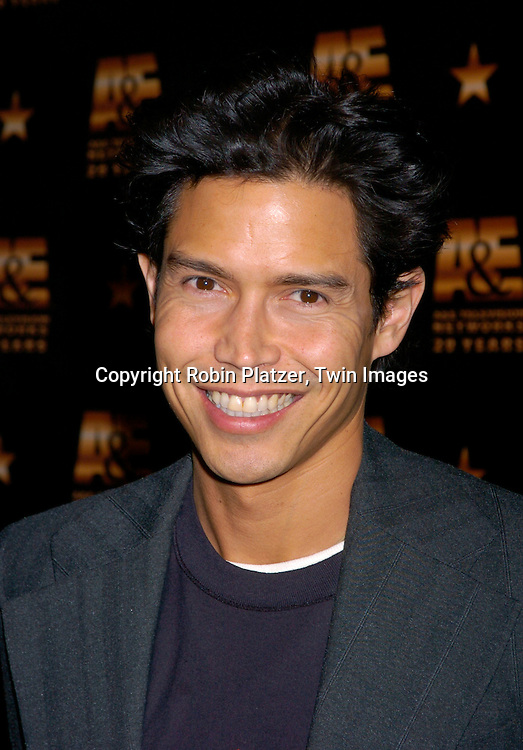 Anthony Ruivivar of Third Watch..at A & E Television Networks 20th Anniversary Celebration on January 27, 2004 at the Mandarin Oriental Hotel . ..Photo by Robin Platzer, Twin Images