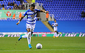 30th September 2017, Madejski Stadium, Reading, England; EFL Championship football, Reading versus Norwich City; Garath McCleary of Reading lines up to shoot at goal