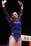 Gymnastics World Championships Womens Team Finals 27.10.15. Great Britain in action. Ellie Downie .Ellie Downie.