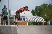 6/15/12 - Jake Canton at the Arvada Skatepark - June 16, 2012.
