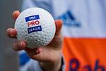 ROTTERDAM -  bal, all, logo, hockeybal, hockeyball   tijdens de Pro League hockeywedstrijd dames, Netherlands v USA (7-1)  .  COPYRIGHT  KOEN SUYK