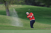Jack Senior (ENG) on the 9th during Round 1 of the Challenge Tour Grand Final 2019 at Club de Golf Alcanada, Port d'Alcúdia, Mallorca, Spain on Thursday 7th November 2019.<br /> Picture:  Thos Caffrey / Golffile<br /> <br /> All photo usage must carry mandatory copyright credit (© Golffile | Thos Caffrey)