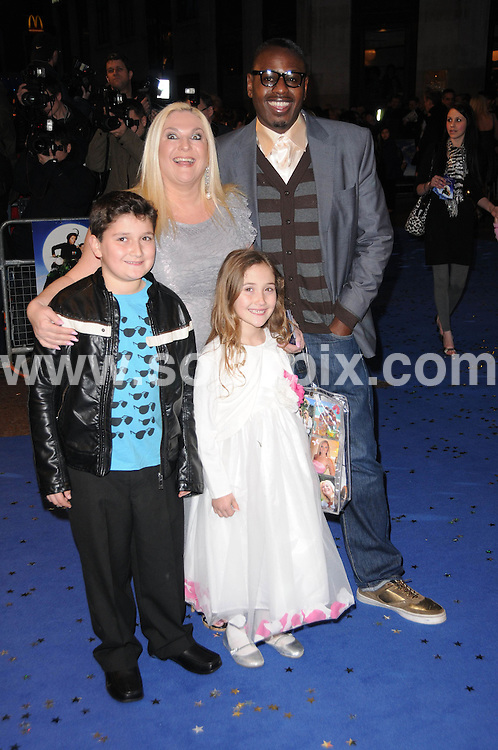 **ALL ROUND PICTURES FROM SOLARPIX.COM**.**WORLDWIDE SYNDICATION RIGHTS**.the UK premiere of Nanny McPhee And The Big Bang, .Odeon West End, Leicester Square, London, UK. 24 March 2010..This pic: Vanessa Feltz and family..JOB REF: 10974 MSR    DATE: 24_03_2010.**MUST CREDIT SOLARPIX.COM OR DOUBLE FEE WILL BE CHARGED**.**MUST NOTIFY SOLARPIX OF ONLINE USAGE**.**CALL US ON: +34 952 811 768 or LOW RATE FROM UK 0844 617 7637**