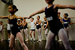 Children audition for the Sacramento Ballet's Nutcracker production on Sunday, September 10, 2006. (Photo by Max Whittaker)