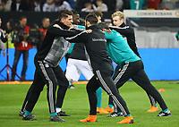 Mario Gomez (Deutschland Germany) mit Marvin Plattenhardt (Deutschland Germany) - 23.03.2018: Deutschland vs. Spanien, Esprit Arena Düsseldorf