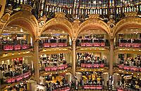 Galeries Lafayette department store Paris..©shoutpictures.com.john@shoutpictures.com