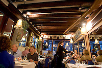 Interno del ristorante Al Paradiso, a Venezia.<br /> Interior of the restaurant Il Paradiso, in Venice.<br /> UPDATE IMAGES PRESS/Riccardo De Luca