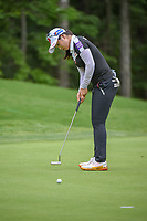 Hye-Jin Choi (KOR) watches her putt on 13 during round 2 of the U.S. Women's Open Championship, Shoal Creek Country Club, at Birmingham, Alabama, USA. 6/1/2018.<br /> Picture: Golffile | Ken Murray<br /> <br /> All photo usage must carry mandatory copyright credit (&copy; Golffile | Ken Murray)
