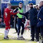 08.03.2020: Ross County v Rangers: Ryan Kent and Steven Gerrard