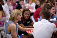 STANFORD,CA., September 19, 2016,—New Student Athlete orientation an annual event that brings together freshmen student-athletes and their parents.