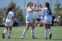 San José, CA: San José Earthquakes Girls Academy U15 vs California Thorns, September 1, 2018.