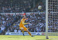 Preston North End's Tom Barkhuizen sees a shot rebound down off the bar<br /> <br /> Photographer Alex Dodd/CameraSport<br /> <br /> The EFL Sky Bet Championship - Leeds United v Preston North End - Saturday 8th April 2017 - Elland Road - Leeds<br /> <br /> World Copyright &copy; 2017 CameraSport. All rights reserved. 43 Linden Ave. Countesthorpe. Leicester. England. LE8 5PG - Tel: +44 (0) 116 277 4147 - admin@camerasport.com - www.camerasport.com