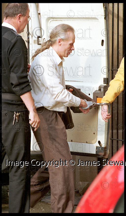 1st April 99                           Copyright Pic : James Stewart .Ref :   990183                  .File Name : stewart03-robert sinclair 010499                        .ROBERT SINCLAIR ARRIVES AT STIRLING SHERIFF COURT TODAY (01.04.99) FOR HIS COURT APPEARENCE......(copy from Tim Bugler).....Payments to :-.James Stewart Photo Agency, Stewart House, Stewart Road, Falkirk. FK2 7AS      Vat Reg No. 607 6932 25.Office : 01324 630007        Mobile : 0421 416997.E-mail : JSpics@aol.com.If you require further information then contact Jim Stewart on any of the numbers above.........