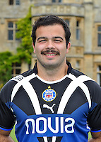 Kane Palma-Newport poses for a portrait at the squad Photocall. Bath Rugby Media Day on August 21, 2012 at Farleigh House in Bath, England. Photo by: Patrick Khachfe/Onside Images