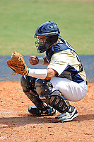 18 March 2012:  FIU catcher Aramis Garcia (44) catches as the Florida Atlantic University Owls defeated the FIU Golden Panthers, 9-3, at University Park in Miami, Florida.