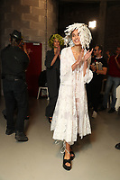 JUNKO SHIMADA <br /> backstage at Spring/Summer 2018 Ready-to-Wear Fashion Show at Paris Fashion Week in Paris, France in October 2017.<br /> CAP/GOL<br /> &copy;GOL/Capital Pictures
