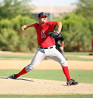 Brian Diemer - Los Angeles Angels - 2010 Instructional League.Photo by:  Bill Mitchell/Four Seam Images..