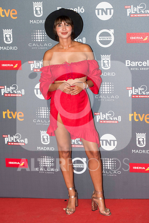 Jackie Cruz attends to welcome party photocall of Platino Awards 2017 at Callao Cinemas in Madrid, July 20, 2017. Spain.<br /> (ALTERPHOTOS/BorjaB.Hojas)