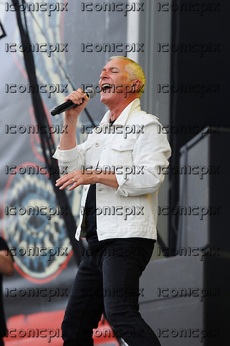 THUNDER - vocalist Danny Bowes -  performing live n Day Two of the Ramblin' Man Fair at Mote Park Maidstone Kent UK - 24 Jul 2016.  Photo credit: Zaine Lewis/IconicPix