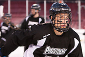 Truman Reed (PC - 23) - The Providence College Friars practiced at Fenway on Friday, January 6, 2017, in Boston, Massachusetts.