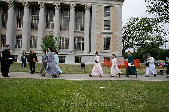 San Angelo - a 14-day hearing at the 51st District (Tom Green County) Courthouse to decide the fate of 416 children removed in a raid from the FLDS Church's YFZ Ranch. Thursday April 17, 2008.