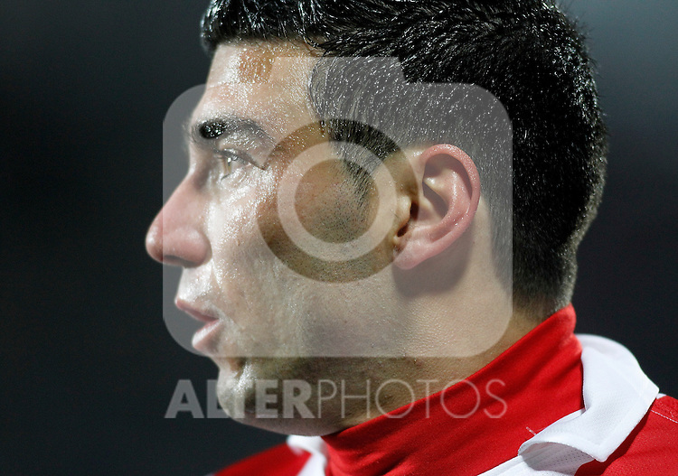 Atletico de Madrid's Jose Antonio Reyes during La Liga Match. March 02, 2011. (ALTERPHOTOS/Alvaro Hernandez)