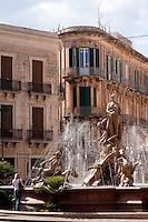 Fontana di Diana, Piazza Archimede, Siracusa, Sicily