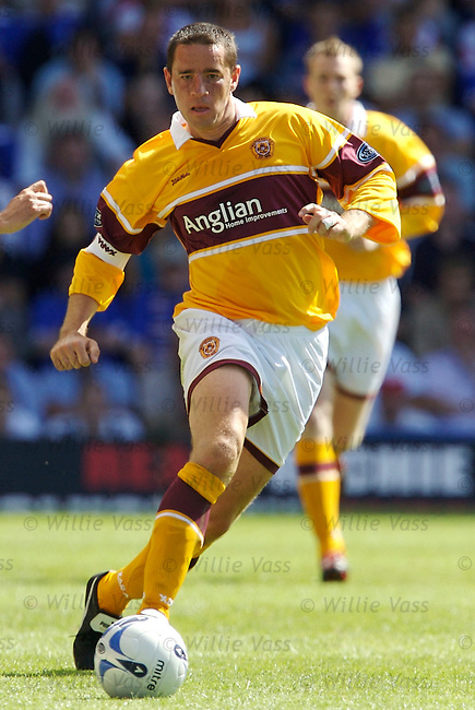 Phil O'Donnell, Motherwell.stock season 2006-2007.pic willie vass