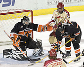 Eric Leroux, Tom May, Patrick Neundorfer - The Princeton University Tigers defeated the University of Denver Pioneers 4-1 in their first game of the Denver Cup on Friday, December 30, 2005 at Magness Arena in Denver, CO.