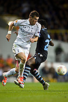 Tottenham Hotspur 0 Lazio 0, 20/09/2012. White Hart Lane, Europa League. Gareth Bale in action. Photo by Simon Gill.