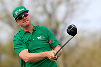 Charlie Hoffman (USA) on the 9th tee during the 3rd round of the Waste Management Phoenix Open, TPC Scottsdale, Scottsdale, Arisona, USA. 02/02/2019.<br /> Picture Fran Caffrey / Golffile.ie<br /> <br /> All photo usage must carry mandatory copyright credit (© Golffile | Fran Caffrey)