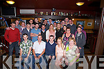 BIRTHDAY: On Friday night Sean Healy who invited his family and friends to his 21st birthday party in Bunkers Bar, Killorglin on Friday night. (Sean is seated centre).