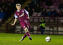 Arbroath's Jack Smith scores their second goal.