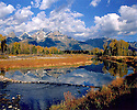 THE TETONS AND SNAKE RIVER<br /> GRAND TETON NATIONAL PARK, WYOMING