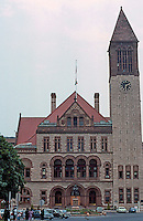H. H. Richardson: Albany City Hall, Elevation.