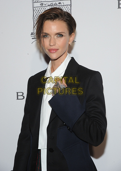 NEW YORK, NY - OCTOBER 19: Ruby Rose attends the re-opening of the  Bulgari flagship store on Fifth Avenue in New York City on October 20, 2017. <br /> CAP/MPI/JP<br /> &copy;JP/MPI/Capital Pictures
