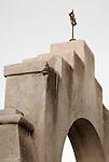 Detail of San Xavier del Bac Mission, Tucson, Arizona