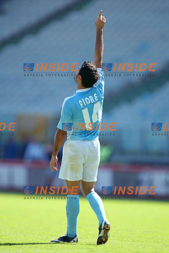 Roma 31/8/2003<br /> Lazio Lecce 4-1<br /> Stefano Fiore (Lazio)<br /> Foto Insidefoto