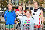 FUN RUN: Taking part in the 10KM run in aid of the Kerry Careers Association at the Brandon hotel, Tralee on Sunday l-r: Mike Bowler, Patrick, Eileen and Ger O'Shea, Cahirciveen.