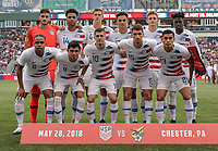 USMNT vs Bolivia, May 28, 2018