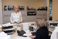 4/26/11 9:20:11 AM -- Warrington, Pa. -- Fox Rothschild Attorney Susan Smith at work in her Warrington, Pa. office April 26, 2011. -- Photo by William Thomas Cain/Cain Images for Fox Rothschild.